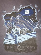Big Head Todd And The Monsters Red Rocks Band Tee 2010 Mens XL