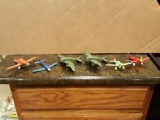 Vtg 2 Rubber Toys-1940's Us Army Transport Plane-Sun Rubber Co Plus 4 Extras