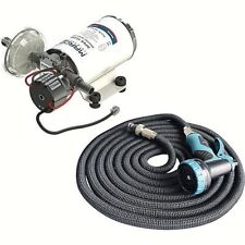 Kit Pump Professional Electronic 12V 24V 3 BAR Wash Bridge Boat DP3 / And