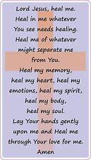 Healing Prayer Bible Art Quote Vinyl Wall Stickers Home Decal