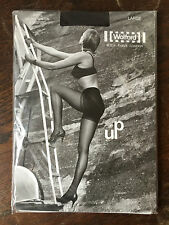 RARE HELMUT NEWTON WOLFORD VINTAGE - UP BOTTOM LIFT TIGHTS MOCCA Size - LARGE