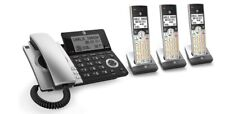 At&T Cl84307 Dect 6.0 Expandable Corded/Cordless Silver/Black with 3 Handset.