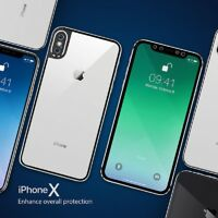 3D Curved Edge Full Cover Front + Back Tempered Glass for iPhone X Xr Xs Max