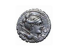 Moneda romana: Denario, s. I a.c., 78 a 77 a.c.