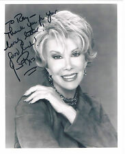 Joan Rivers American Television comedian  - Hand Signed Photograph 10 x 8