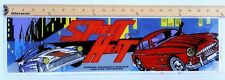 ARCADE GAME UPPER MARQUEE ORIGINAL STREET HEAT by Cardinal Amusement Products