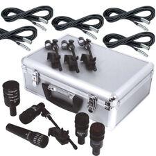 Audix Dp5A 5-Piece Drum Microphone i5 D4 D6 D2 Set Mic Kit w/ 20ft Mic Cables