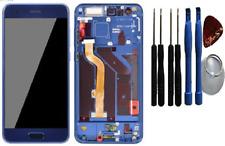Huawei Honor 9 LCD Display Touchscreen Bildschirm Rahmen Blau / Werkzeug-Set