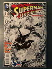 Superman Unchained 2013 #1 NM+ Jim Lee 1:300 Sketch Variant! CGC Candidate!