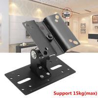 360° Drehung Stahl Lautsprecher Halterung Decke/Wand Halterung Ständer Halter Un