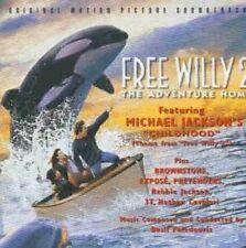 Free Willy 2 (1995) Michael Jackson, Rebbie Jackson, Brownstone.. [CD]