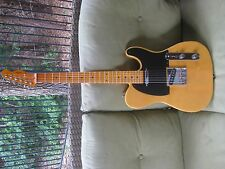 Custom Telecaster in Butterscotch/ Swamp Ash Body