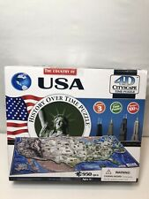 4D Cityscape Jigsaw Puzzle - USA History Over Time Puzzle 950 Pieces Y