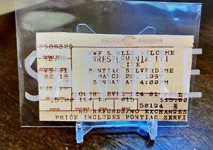Wrestlemania 3  Event Ticket Stub Replica 3/29/1987 🔥 Hogan VS Andre 🤩