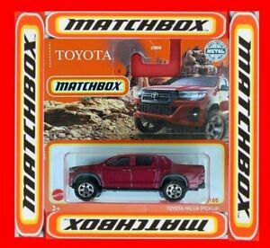 MATCHBOX 2021    TOYOTA HILUX PICKUP    13/100   NEU&OVP