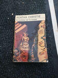 Le couteau sur la nuque Agatha Christie