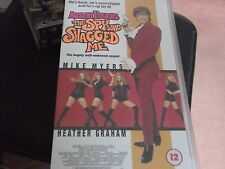 AUSTIN POWERS:THE SPY WHO SHAGGED ME VHS VIDEO CASSETTE mike myers