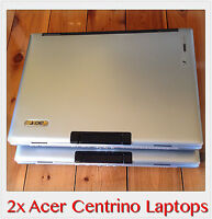 2x Acer TravelMate 3260 Core Solo T1350 1.86GHz, 1GB RAM, 80GB HDD