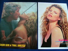1980s- Kim Basinger BATMAN 18 Japan VINTAGE Clippings VERY RARE