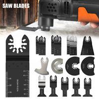 16pcs Multi Oscillating Saw Blades Tool Cutter for Dewalt Makita Bosch Universal