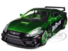 TOYOTA CELICA GT-S GREEN 1/24 CUSTOM DIECAST CAR MODEL BY MAISTO 32096