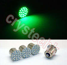 4x 1156 BA15S P21W 3014 22-SMD LED Tail Signal Light Car Light Lamp GREEN Bulb
