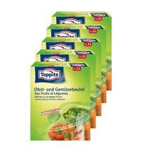 Toppits Obst- und Gemüse-Beutel 7x3Liter Hält biszu 3x länger frisch (5er Pack)