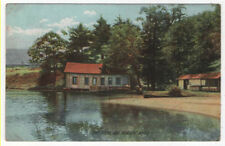 Lake Pleasant, Massachusetts,  View of The Boat House, 1915