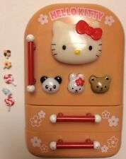 Hello Kitty Sanrio 2001 Electronic Musical Fridge Refrigerator Sounds w/extras