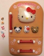 Hello Kitty Sanrio 2001 Electronic Musical Fridge Refrigerator Sounds w/extras