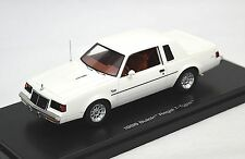 BUICK REGAL T TYPE 1986 WHITE AUTOWORLD 1137/06 1:43 RESIN MODEL