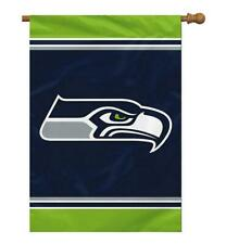 """NFL Seattle Seahawks 1 Sided House Banner, 28"""" x 40""""/Team Color"""