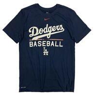 NIKE MLB LOS ANGELES DODGERS PRACTICE  DRI FIT SHIRT NWT SIZE L NEW