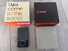 Microsoft Zune 30GB Video MP3 Player - Black - Boxed And Complete