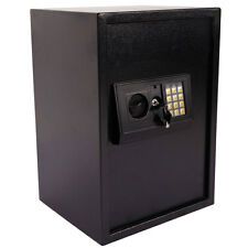 New Large Digital Electronic Safe Box Keypad Lock Security Home Office Black US