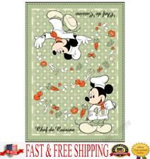 Disney Kitchen Towel Mickey Chef de Cuisine Kitchen Towel Only Original
