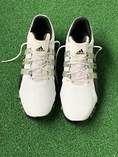 Adidas Golf Shoes  Traxion Powerband Chassis White 791003  Sz 13