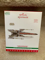 "2017 Star Wars Hallmark Ornament~""X-WING STARFIGHTER"" Magic w/ Light & Sound"