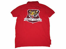 Polo Ralph Lauren Red Naval Tigers Military Wings Patch Patches Shirt M