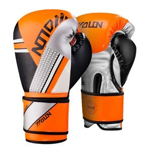 8/10OZ Kids/Adults MMA Muay Thai Sparring Boxing Gloves Martial Arts Sanda Mitts