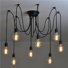 Vintage Edison Industrial Bedroom Chandelier Modern Pendant Light Ceiling Lamps