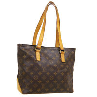 LOUIS VUITTON CABAS PIANO HAND TOTE BAG DU1012 PURSE MONOGRAM M51148 A54070