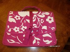 Buckhead Betties Pink & White Laptop Bag EC!!!!