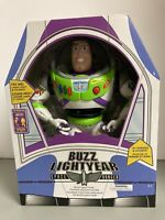 Disney Store Toy Story 4 Buzz Lightyear Interactive Talking Action Figure - NEW