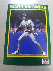 Mark Mcgwire Oakland A's Cardinals 1B MLB RARE ODDBALL CARDS WOW YOU PICK