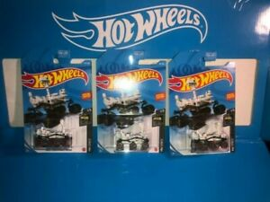 LOT OF (3) MARS PERSEVERANCE ROVER HOT WHEELS,NEW FOR 2021,E CASE,HW SPACE!!!!!!
