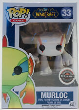 Funko Pop World Of Warcraft White Murloc GameStop Exclusive W/ Protector