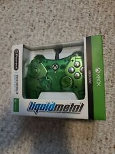 Xbox One Wired Controller Liquid Metal Green by Power A Model 1414335-02