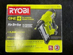 RYOBI P360 Tool-Only Cordless AirStrike 18-Gauge Narrow Crown Stapler, N