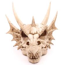 Large Dragon Skull Ornament Dragons Head Figurine Statue Skeleton Decor Gift